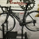 Complete bike with carbon frame